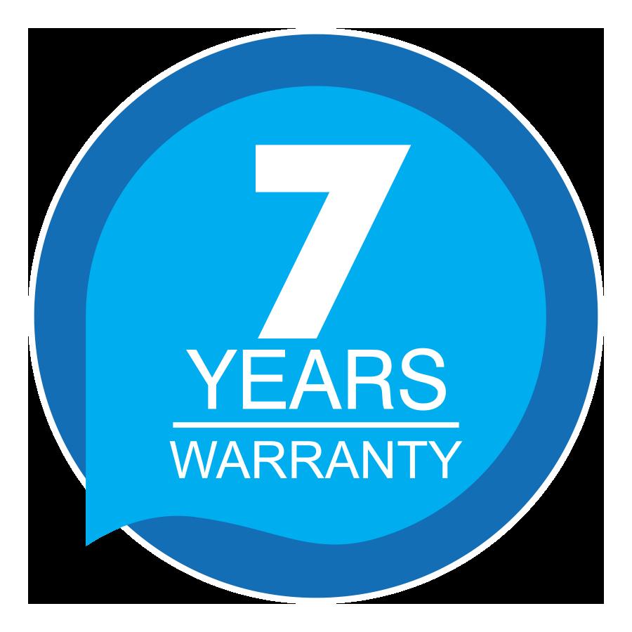 7 Year Limited Warranty